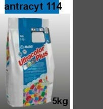 """ANTRACYT"" Fuga mapei Ultracolor 114 - 5 kg"